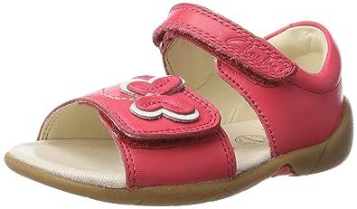 Clarks Baby Mädchen Kiani Sun FST Lauflernschuhe, Pink (Pink