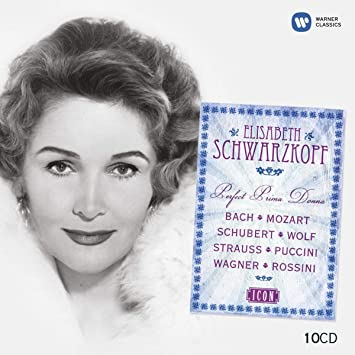 3e7caf5246 Elisabeth Schwarzkopf, Bach, Mozart, Schubert, Wolf, Strauss, Puccini,  Wagner, Rossini - ICON: Elisabeth Schwarzkopf: Perfect Prima Donna - Amazon.com  Music