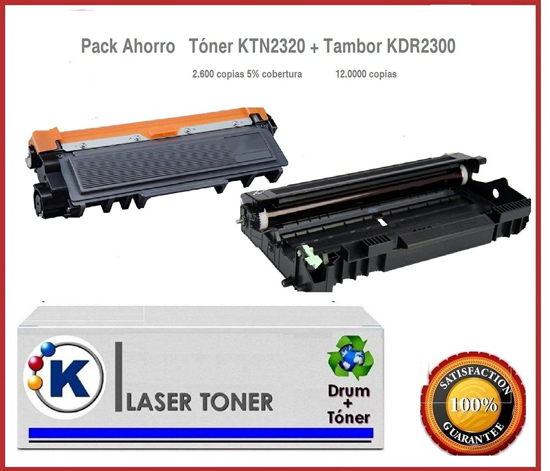 Tambor+Toner Compatible para para Compatible Brother MFC-L2700DW 4e111f