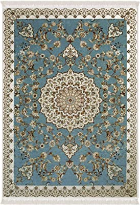 Amazon Com Modern Area Rugs For Living Room 8x10 Blue