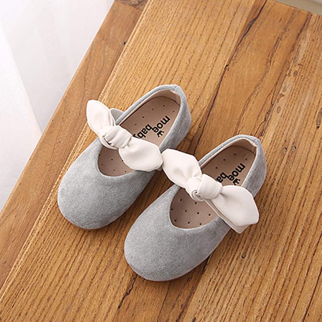 Staresen Filles Bow Velcro Anti-d/érapant Princesse Chaussures Sandales et Pantoufles Sandales Chaussures d/écontract/ées Chaussures antid/érapantes Couleur Unie Chaussures de Plage Sport