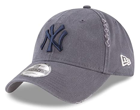 8b5628fa7d2e Image Unavailable. Image not available for. Color  New York Yankees New Era  9Twenty MLB  quot Rip Right quot  Adjustable Hat