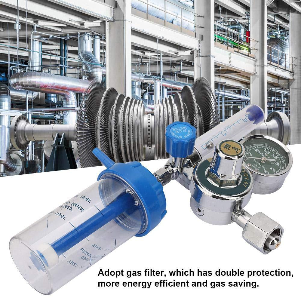 0-100 mpa regulador de flujo de aire Dispositivo de medici/ón profesional para regulador de presi/ón de gas hidr/ógeno Regulador de presi/ón de ox/ígeno BSP 5//8