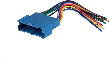 1998 oldsmobile intrigue radio wiring diagram amazon com scosche gm03b car stereo wiring harness compatible  scosche gm03b car stereo wiring harness