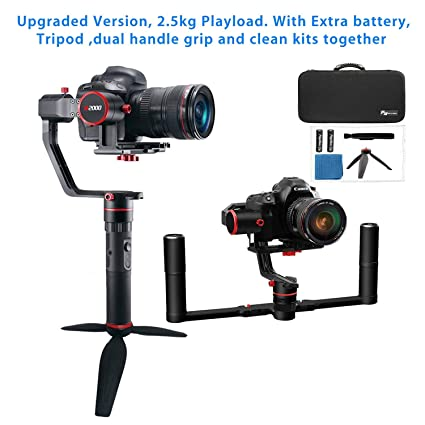 Feiyutech A2000 - Kit de doble empuñadura para cámara réflex ...