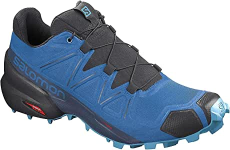 Salomon Alpha Cross - Zapatillas de Trail para Mujer, Color Azul, Talla 40 EU: Amazon.es: Zapatos y complementos