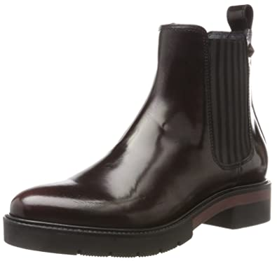 bf4217851e519 Tommy Hilfiger Damen R1285OXANA 2A Chelsea Boots, Rot (Decadent Chocolate),  39 EU