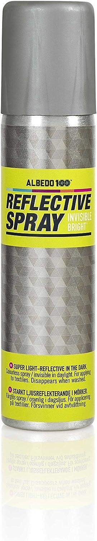 Albedo 100 Reflective Spray Invisible Bright 100ml Lichtreflektierendes Spray Für Textilien Sport Freizeit