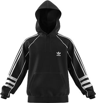 adidas AUTH Hoody Sweatshirt, Herren, Schwarz (Schwarz) S