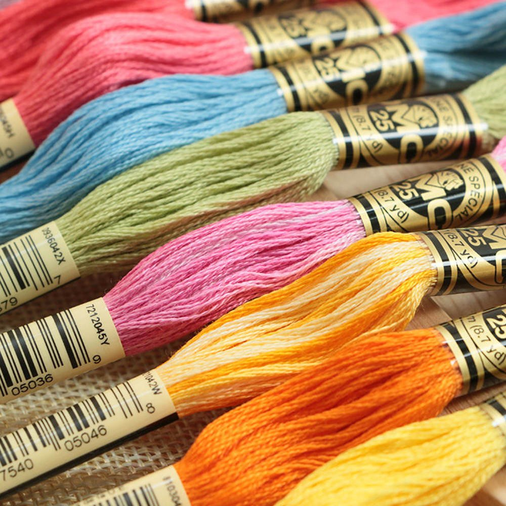 Moohue Needlework Counted Cross Stitch Kits Angel Lovers 14CT Cross Stitch Fabric DMC Cotton Thread Art Crafts Angel Lovers