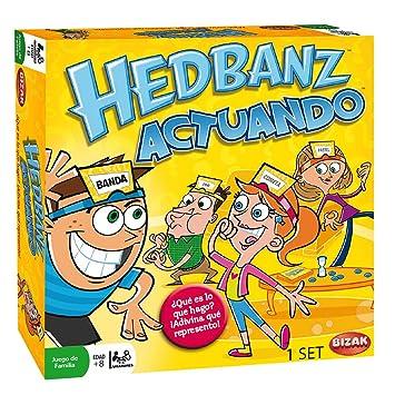 Juegos Bizak Hedbanz Actuando 61924162 Amazon Es Juguetes Y Juegos
