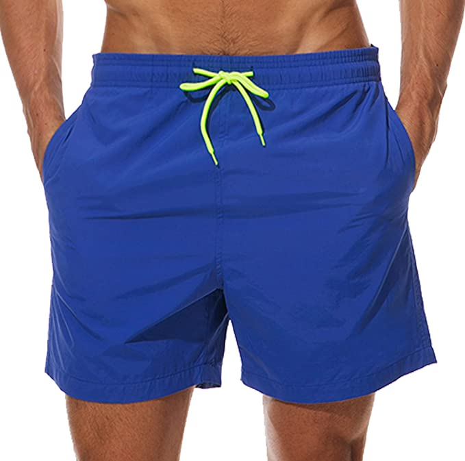 Mens Swim Trunks Quick Dry Summer Holiday Beach Shorts with Mesh Lining Starry Sky Beachwear