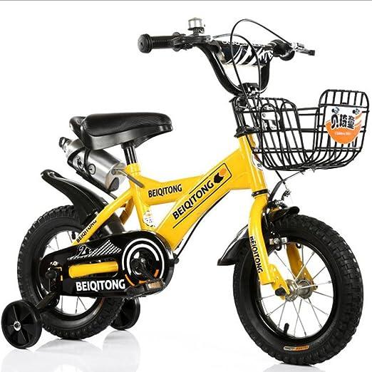 HUALQ Bicicleta Bebés y Niños Pequeños Bicicletas 2-5 Años Hombres ...