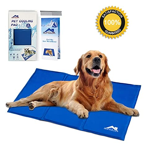 Amazon Com Whalek Cooling Mat Pressure Activated Chilly Dog Cat