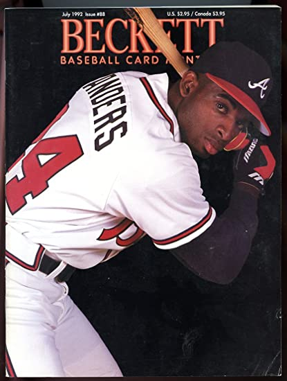 info for a328d 0fa20 Beckett Baseball Card Monthly #88 July 1992 Deion Sanders ...