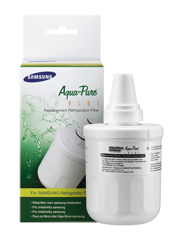 Samsung 1 x ORIGINALE DA29-00003F, HAFIN1 / EXP, DA97-06317A-B Aqua Pure PLUS Ice & Water filtro a cartuccia per adattarsi Samsung di stile americano Side-by-Side Frigorifero Microfilter 5054680396088