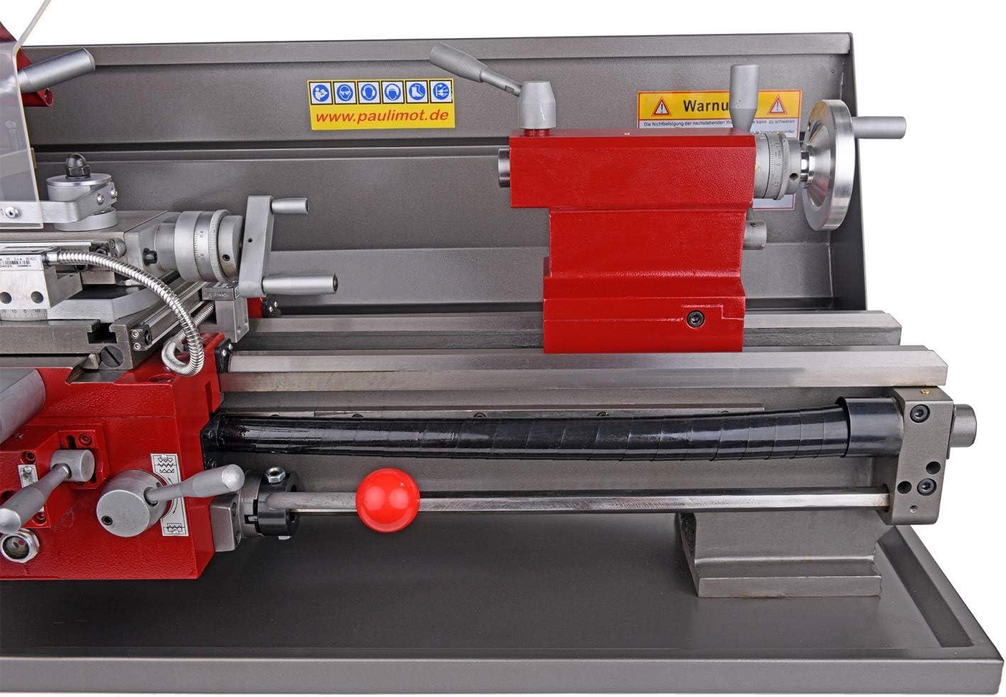 PAULIMOT Drehbank//Drehmaschine PM3700 mit 400 Volt Motor mit Messsystem