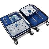 POSITIVE アレンジケース トラベルポーチ 6点セット 軽量 防水 大容量 旅行 出張 整理用 ロゴパッケージ入