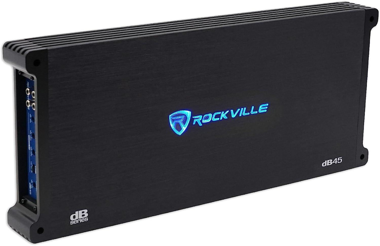 Rockville 3,200 Watt Peak 4-Channel Amplifier