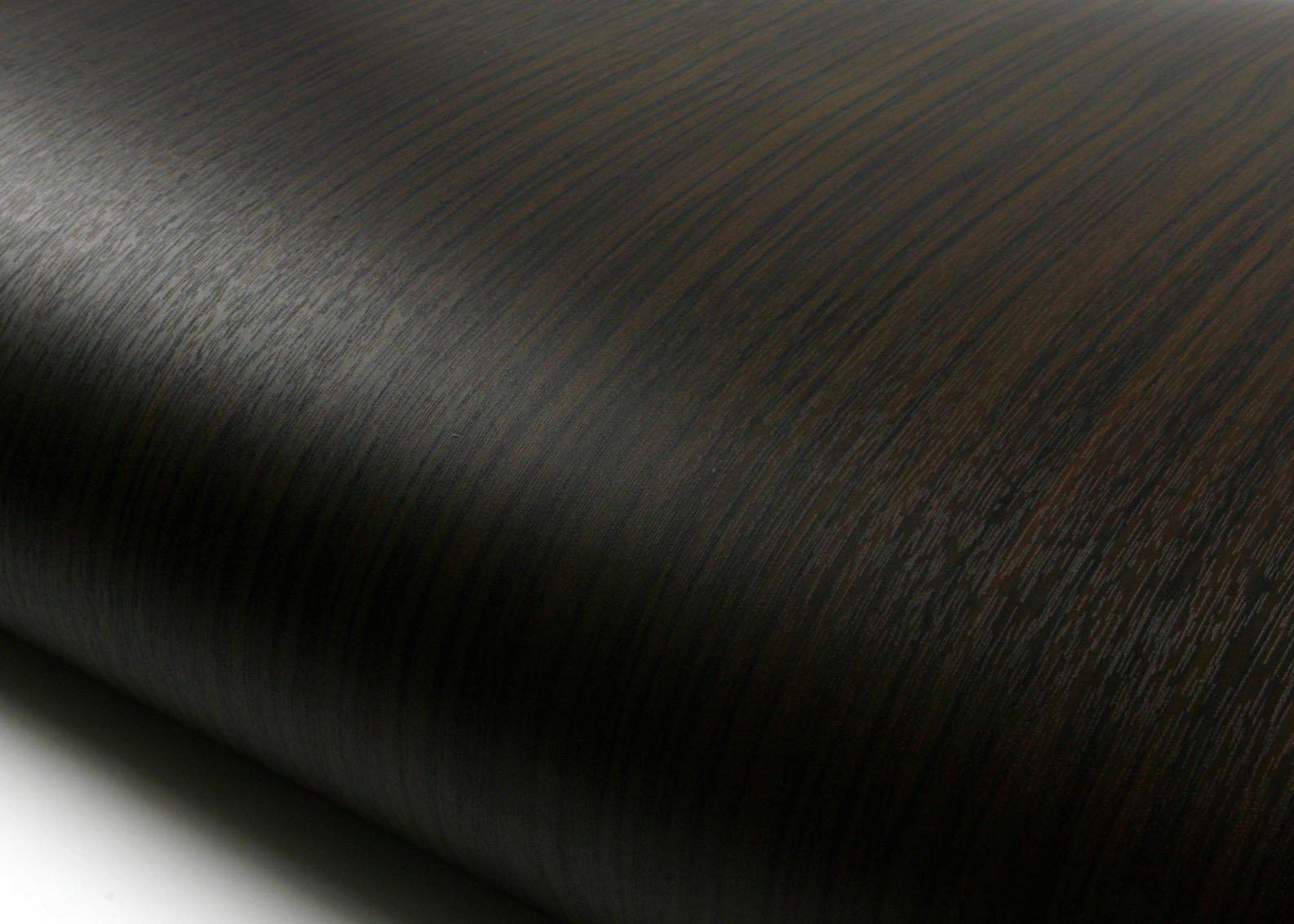 ROSEROSA Peel & Stick Acacia Merbau Camagon Amazahoue Crack Wood Textured Self-Adhesive Vinyl Contact paper Interior Film Shelf Liner Table and Door Reform (PF4126-2 : 2.00 Feet X 6.56 Feet)