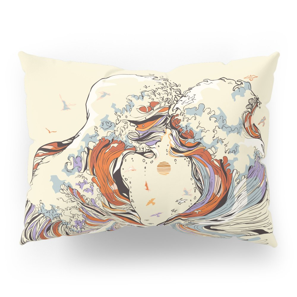 Society6 The Wave Of Love Pillow Sham Standard (20'' x 26'') Set of 2