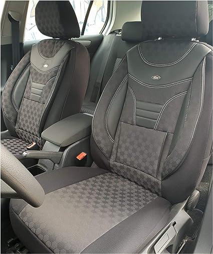 Nissan Navara d-40 III 05-14 Siège-auto Housses Noir Set Housses de Protection Housse De Siège