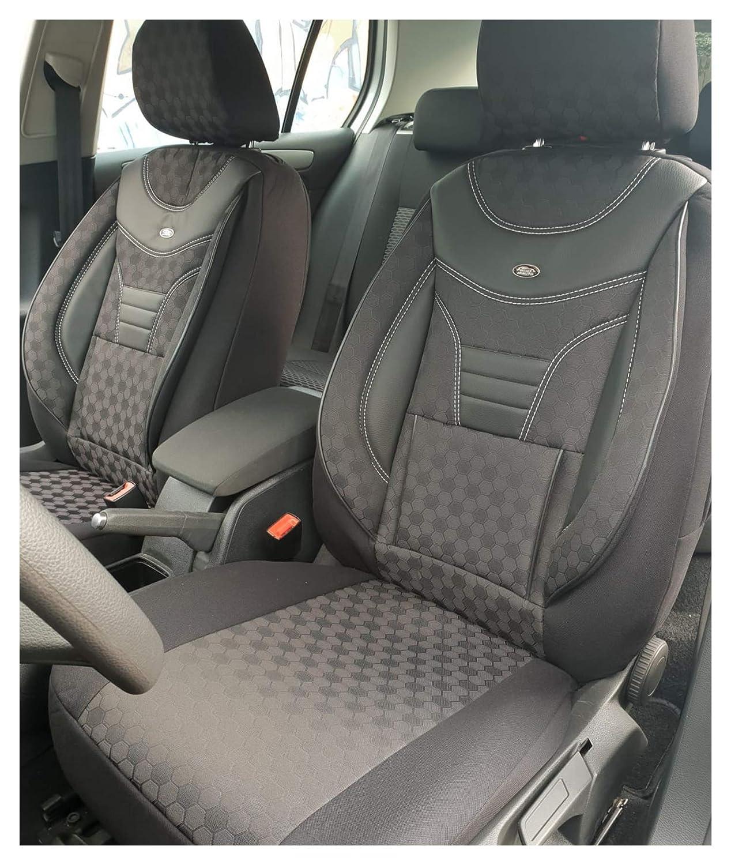 Maß Sitzbezüge Kompatibel Mit Mercedes B Klasse W245 Fahrer Beifahrer Farbnummer 910 Baby