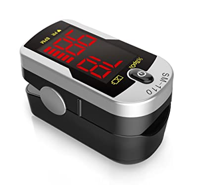 Deluxe SM-110 Two Way Display Finger Pulse Oximeter Review
