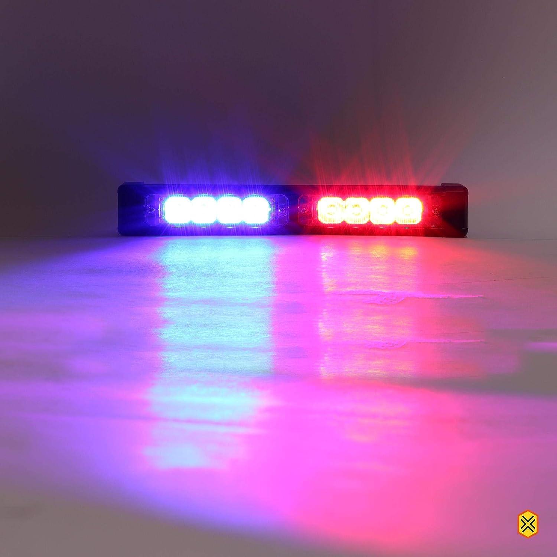 Amber LAMPHUS SolarBlast SBLS24 8W LED Emergency Warning Deck Lightbar