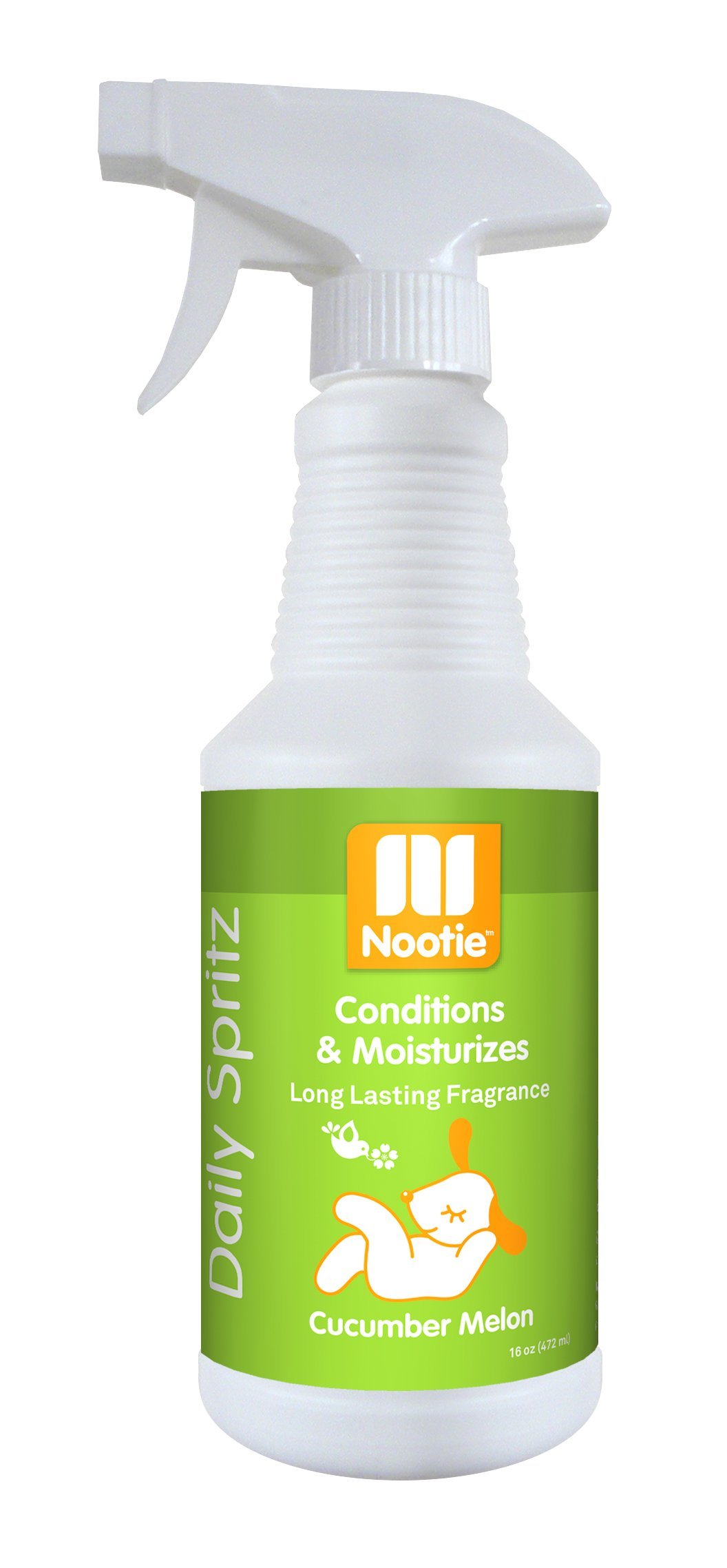 Nootie Daily Spritz Conditions and Moisturizes, Cucumber Melon, 16 Ounce