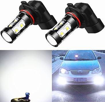 50w HB4 9006 CREE LED SUPER BRIGHT WHITE CAR FOGLIGHT CANBUS*** BULS UNIVERSAL