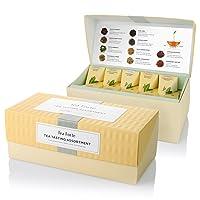 Tea Forte Tea Tasting Assortment Presentation Box Tea Sampler Gift Set, 20 Assorted...