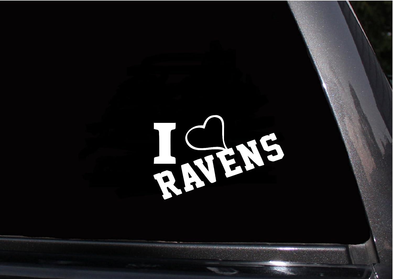 Ravens Football Team Vinyl Decal Sticker Car Window Wall Decor