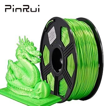 PINRUI filamento de seda de 1,75 mm, filamento de impresora 3D ...
