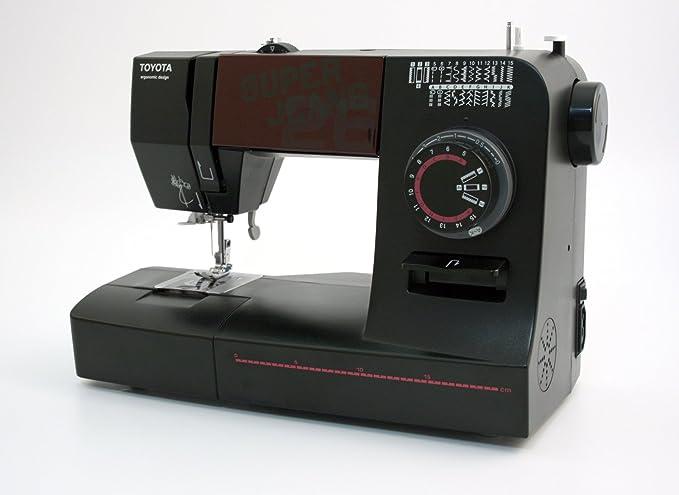 Toyota SUPERJ26 Allround - Máquina de coser (brazo libre, 26 programas y utilidad para vaqueros): Amazon.es: Hogar