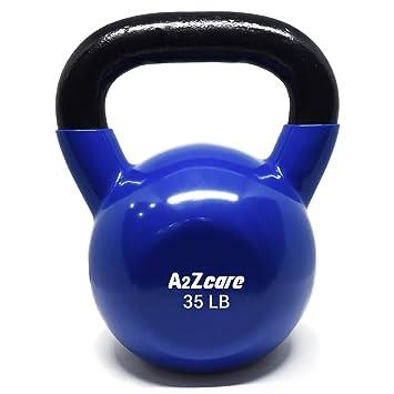 a2zcare pesa rusa con revestimiento de vinilo (para entrenamiento Cruz formación, columpios, y muscular ejercicio: Amazon.es: Deportes y aire libre