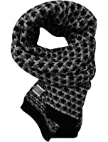 Men New Style Soft Warm Winter Leisure Knitted Scarf