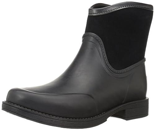 bf8a99befcc UGG Women's Paxton Rain Boot, Black, 5 B US: Amazon.co.uk: Shoes & Bags