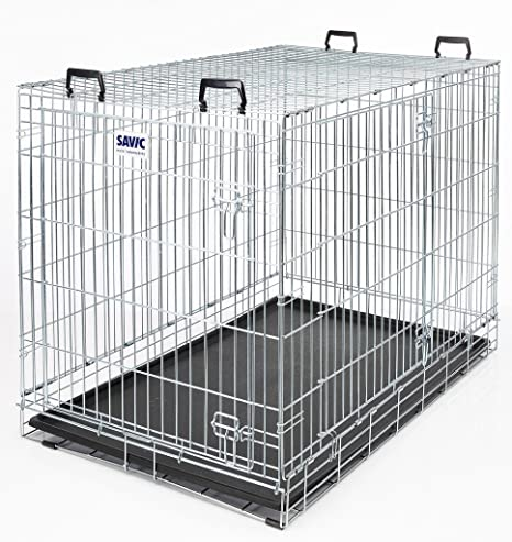 SAVIC Jaula Perro Metal 118x76x88: Amazon.es: Productos para mascotas