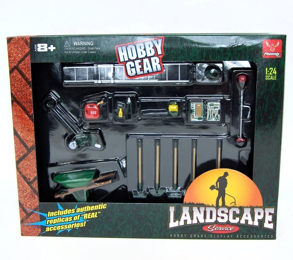 1/24th Landscaping Service 14pc Set by Hobby Gear 71mbWl2B1iWL