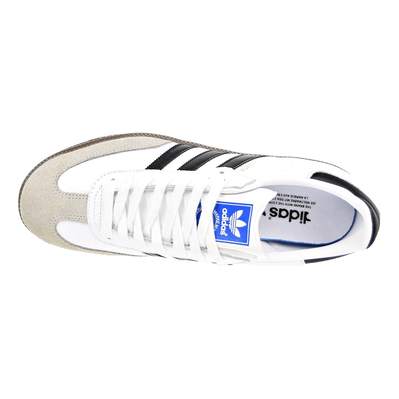 adidas Samba Originals Men's Shoes WhiteCore BlackClear