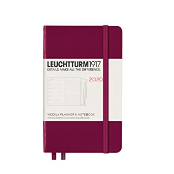 Leuchtturm1917 - Agenda semanal (A6, 2020, incluye folleto ...