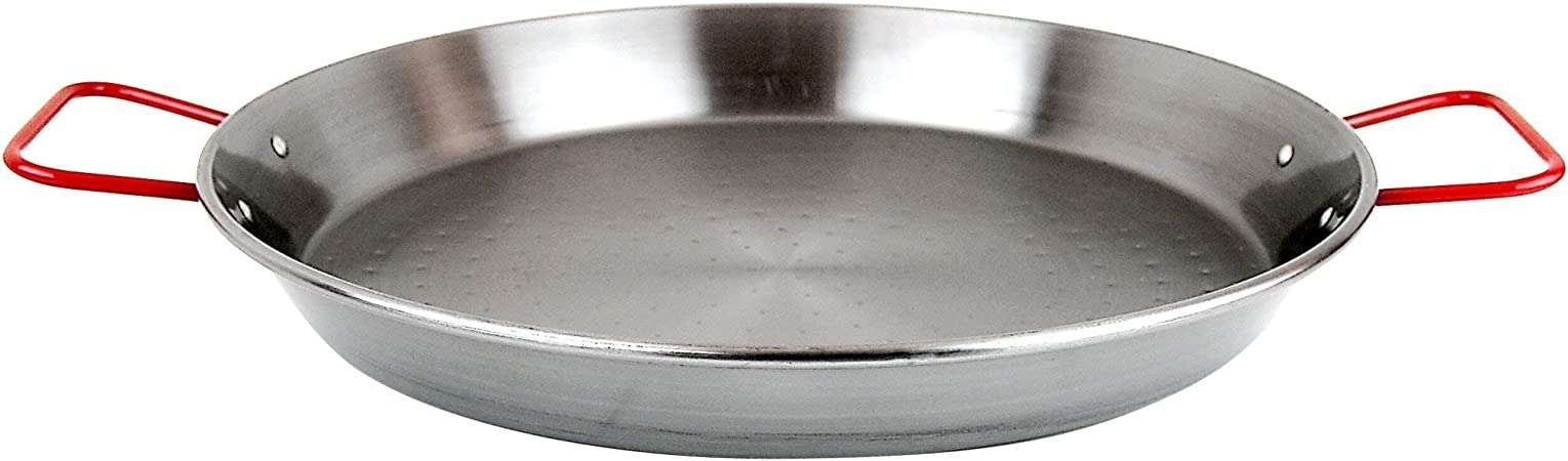 Magefesa Carbon On Steel 28 Paella Pan 30 40 Servings Kitchen Dining
