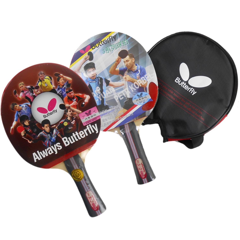 スーパーパドルtbc-302 FLテーブルテニスラケットwithケース B00S4OO94W