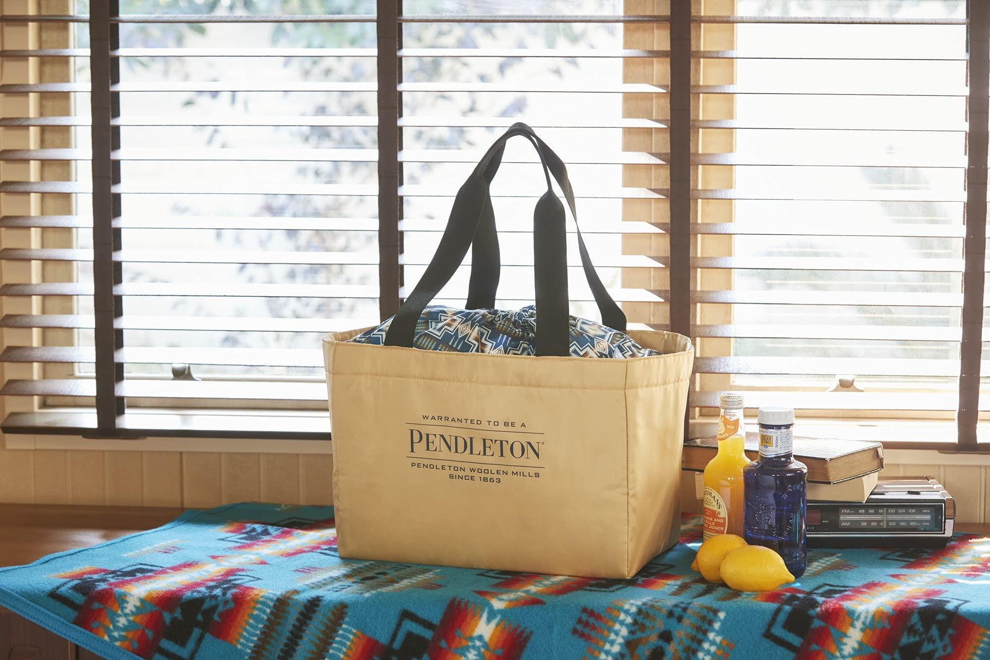 ペンドルトン 初のムック本付録 保冷ができるショッピングバッグ