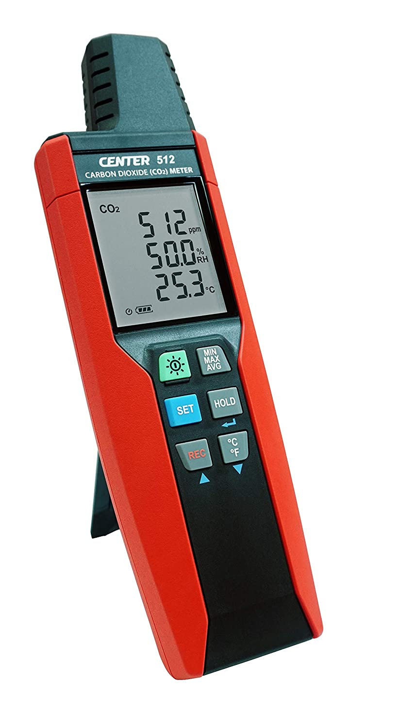 CO2 Meter. Handheld, Indoor Air Quality Meter for Carbon Dioxide/Temperature/Humidity. Fast, Accurate, Portable IAQ Monitor with Datalogger. Includes USB Cable, Software, Carry Case.