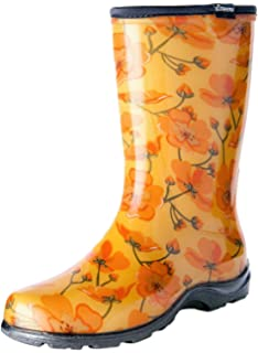Amazoncom Sloggers Rain and Garden Boots for Women Cowabella Cow