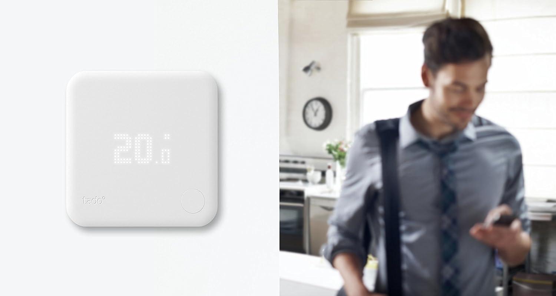 Tado° Kit de inicio de Termostato Inteligente V2: Amazon.es: Bricolaje y herramientas