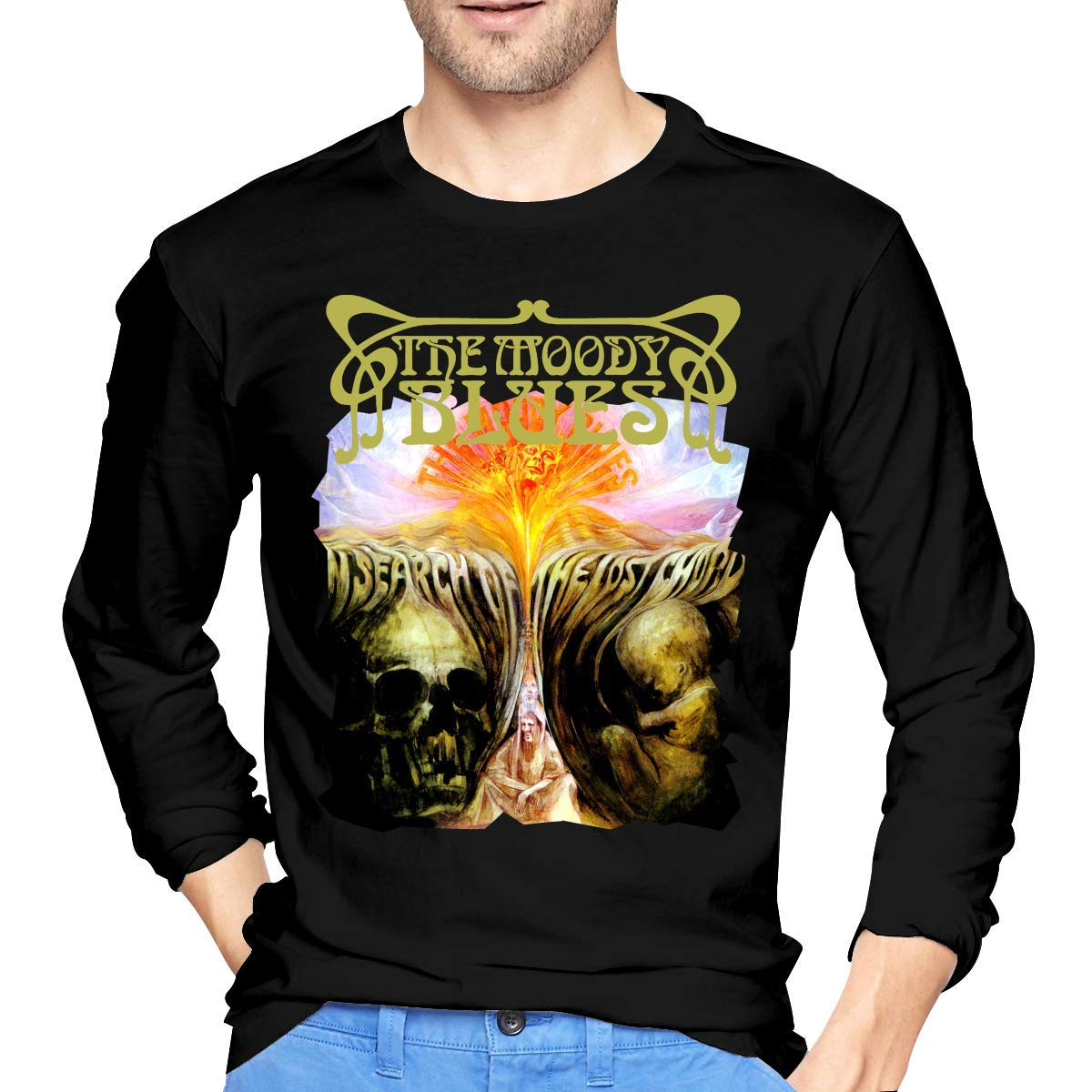 Fssatung S The Moody Blues In Search Of The Lost Chord T Shirt Black