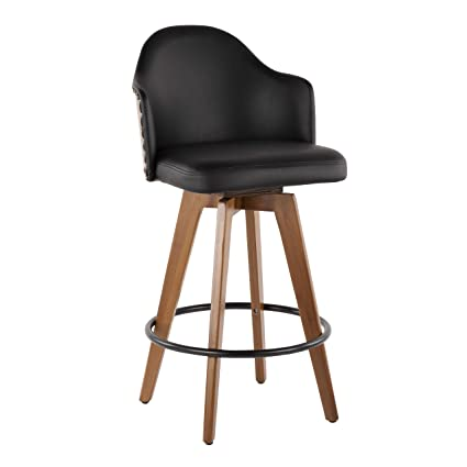 Pleasant Amazon Com Lumisource Mid Century Modern Counter Stool In Ncnpc Chair Design For Home Ncnpcorg